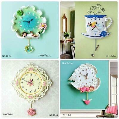 Купить красивые декоративные настенные часы