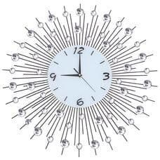 Настенные часы  со стразами