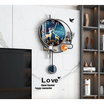 Для гостинной оригинальные настенные часы