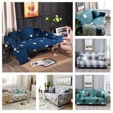 Чехол на диван на резинке