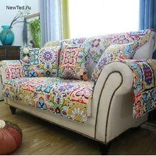 Накидка на диван в восточном стиле