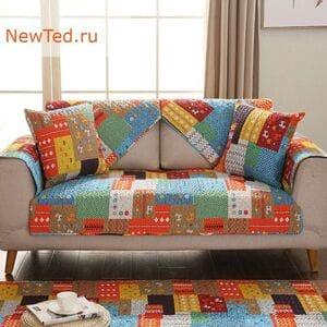 Накидка на диван и кресло