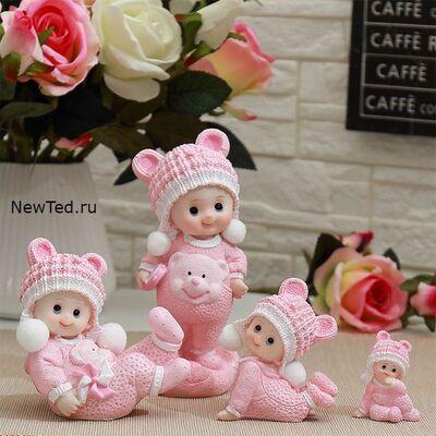 Купить фигурки  четыре ребенка