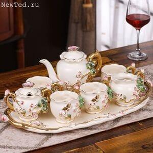 Чайный сервиз № 18-1