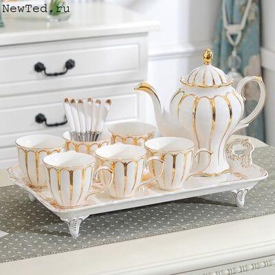 Чайный сервизфарфор