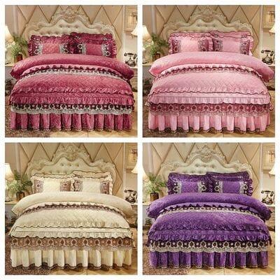 Комплект роскошное постельное белье