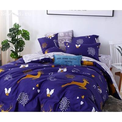 Постельное белье Модное CL017 2 спальное наволочки 50-70 2 шт.