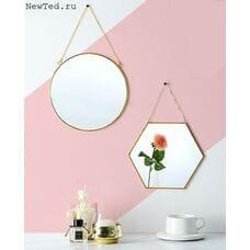 Зеркала шестиугольные и круглые