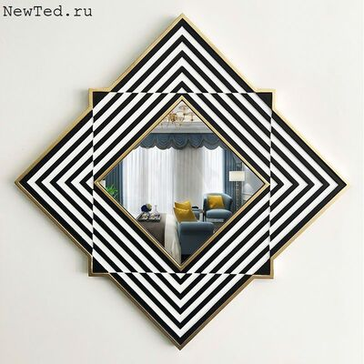 Декоративное зеркало на стену