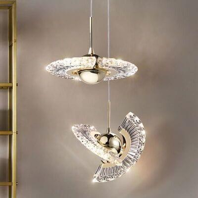 Подвесные светильники с поворотными крылышками
