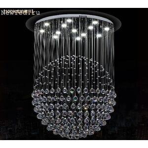 Люстра в гостиную с кристалами