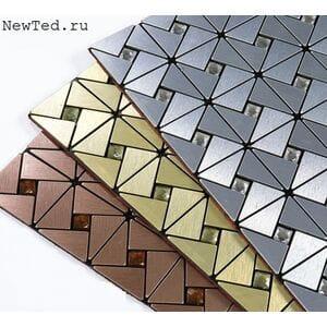 Треугольная мозайка самоклеящиеся