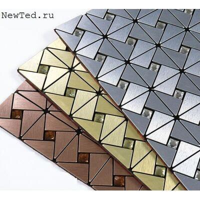 Треугольная самоклеющаяся мозаика плитка