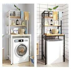 Полки над стиральной машиной в ванной