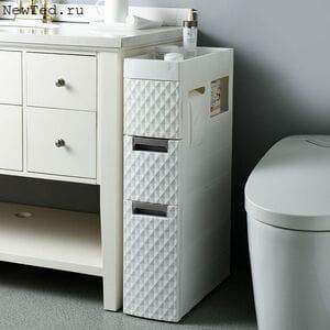 Пластиковый шкаф напольный