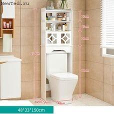 Стеллаж в ванную комнату