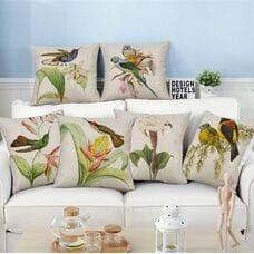 Декоративные подушки птички