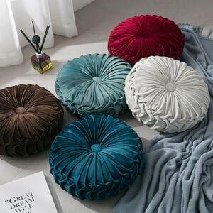 Декоративные подушки круглые