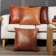 Декоративные подушки Эко кожа