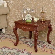 Журнальный столик коричневый