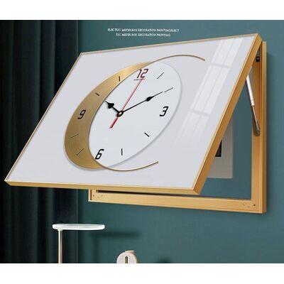 Картина для электрощитка с часами