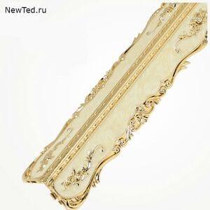 Уголок декоративный золото