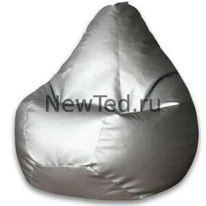 Кресло мешок Металлик экокожа