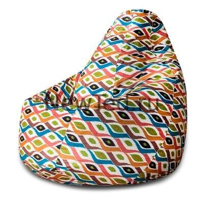 Потрясающие кресло мешок Маракеш велюр