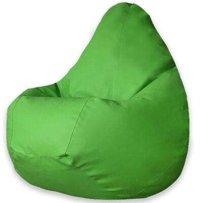 Кресло мешок экокожа зеленая