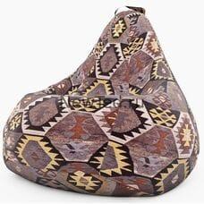 Кресло мешок груша Мехико коричневое