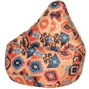 Кресло мешок груша Мехико оранжевое