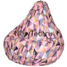 Кресло мешок груша Твинкли розовое