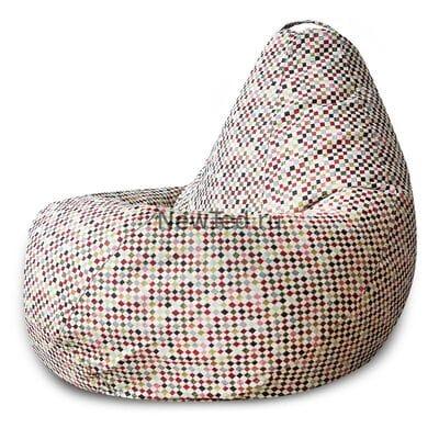 Сказочное кресло мешок Square гобелен