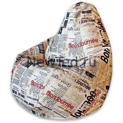 Волшебное кресло мешок Бонджорно велюр