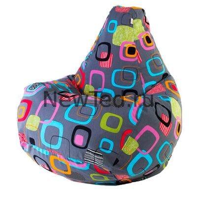 Кресло мешок Мумбо жаккард
