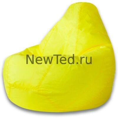 Кресло мешок из ткани оксфорд желтое