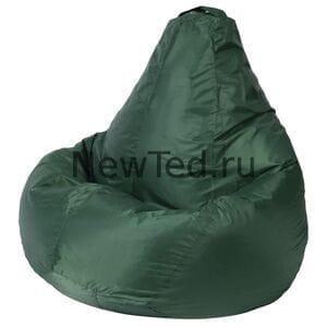 Кресло мешок зеленое оксфорд