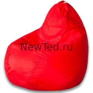 Кресло мешок красное оксфорд