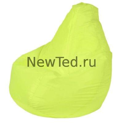 Кресло мешок из ткани оксфорд оранжевое