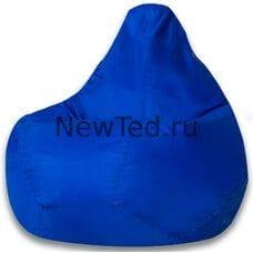 Кресло мешок синее оксфорд