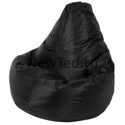 Кресло мешок из ткани оксфорд черное