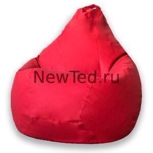 Кресло мешок красный фьюжн