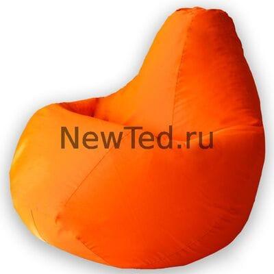 Кресло мешок из ткани фьюжн оранжевое