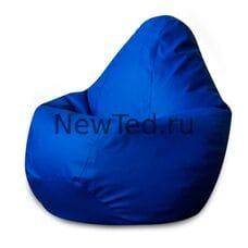Кресло мешок синий фьюжн