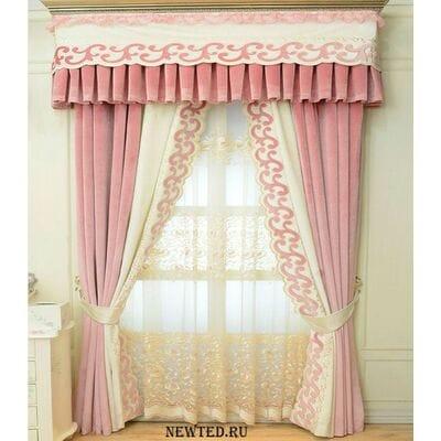 Купить  комплектом шторы