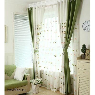 Заказать комбинированные шторы