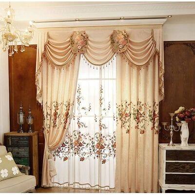 Шторы для спальни и зала
