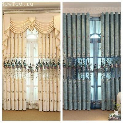 Живописные шторы
