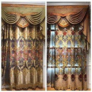 Дизайнерские шторы №.190