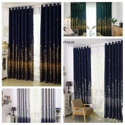 Недорогие готовые шторы купить